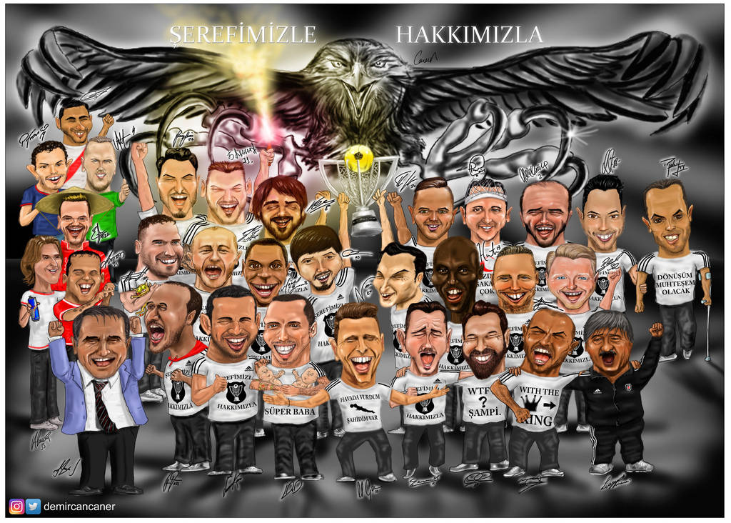 2015-2016 Champions of the Turkish Super League by canerator