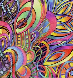 Rainbow Randomness 2 by Artwyrd