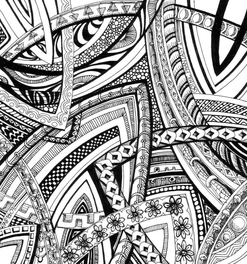 Gothic Phantasy I by Artwyrd