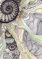 Into the depths 1 by Artwyrd