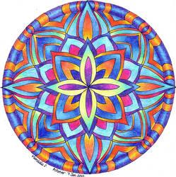 Mandala 2 by Artwyrd