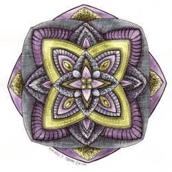 Mandala 3 by Artwyrd