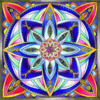 Mandala B 24Oct11 by Artwyrd