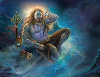 Shiva's Agony by thandav