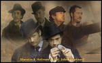 Holmes and Watson wallpaper by potpourriVI