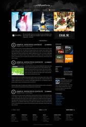 Dark Atlantica for Wordpress by escapepodone
