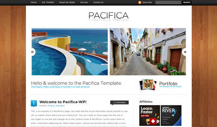 Pacifica Template - Wordpress by escapepodone
