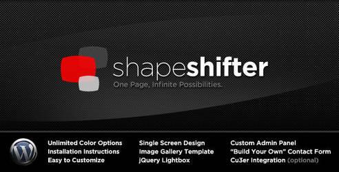 Shape Shifter - WordPressTheme by escapepodone