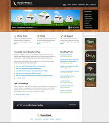 HyperPress - Template - HTML by escapepodone