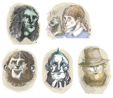 Oz Portraits by Pi-dR