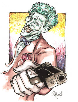 Joker Watercolors by ChrisMcJunkin