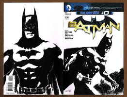 Batman 0 Sketch Cover by ChrisMcJunkin