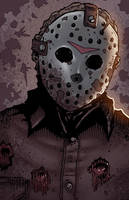 Jason Voorhees Friday the 13th by ChrisMcJunkin