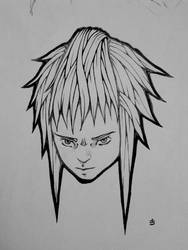 Manga Head by djokandzo