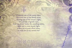 Goddess Invocation by Sabattier
