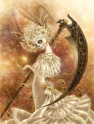 Santa Muerte by aruarian-dancer