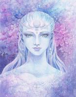 Moon Goddess by aruarian-dancer