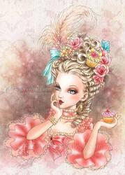 Marie Antoinette by aruarian-dancer