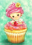 Cupcake Sprite by aruarian-dancer