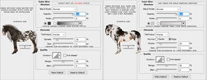 Horse Markings - Halo/Mapping Settings by Kumoulogy