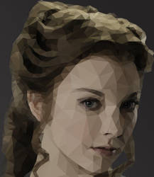 Margaery Tyrell - Low Poly Art by Ansleris