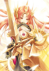 E From Leona! by beanbeancurd
