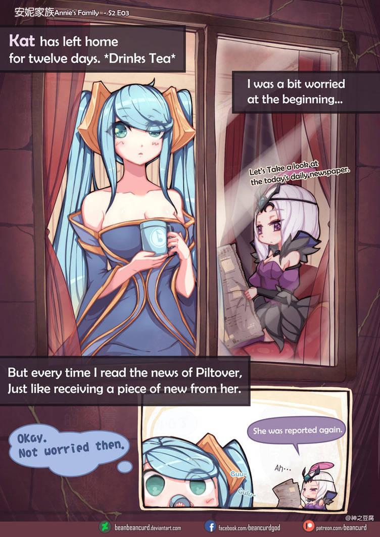[LOL] Annie's family S2 E3 by beanbeancurd