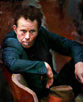 Tom Waits by Les-Allsopp