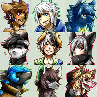 all dem icons by Nishipu