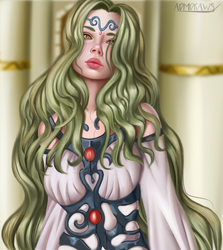 Artemis by admdraws