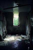 the destroyed room. by ausgetraeumt