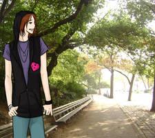 Walk in Central Park by KitsuneSam