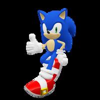 Sonic the Hedgehog Render (Update) by Detexki99