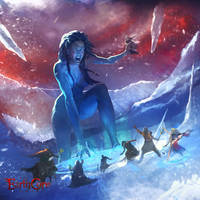 Winter Goddess - Skadi by jaggudada
