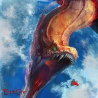 Midgard Serpent - Jormungand by jaggudada
