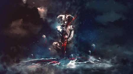 Warrior in Dark by nitefox1203