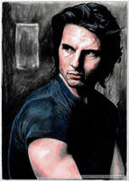 TOM CRUISE - portrait by tomjogi