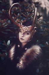 Lady Loki by silverwolfieofficial