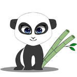 baby panda illustration by selftaughtartist1