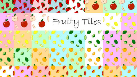 Fruity Tiles Series Set Preview by selftaughtartist1