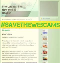 Save the webcams! by GuardiaStar
