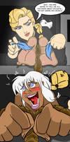 Commission : Kida Tickle interrogated by KingRiek