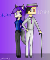 Commission: Alina and Lester by Darucha