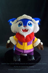 Snow Day Gnar Plush by blueJAY2