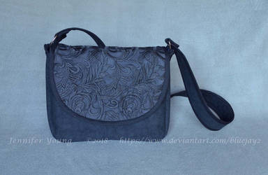 Black Lace Purse Commission by blueJAY2