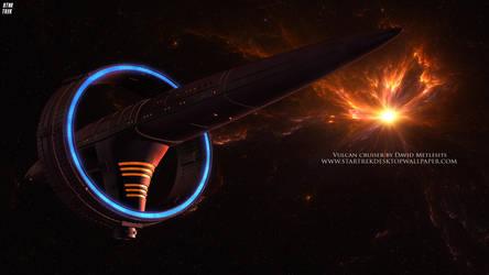 Star Trek Vulcan Cruiser by Zodi