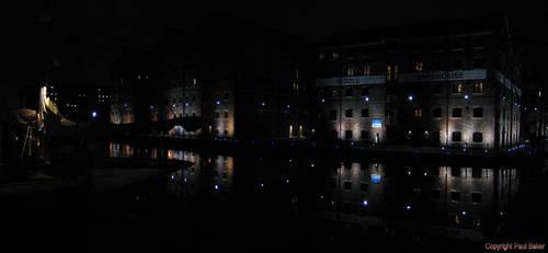 Gloucester Dock Warehouses by ogrebear