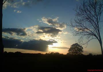 Sunset by ogrebear