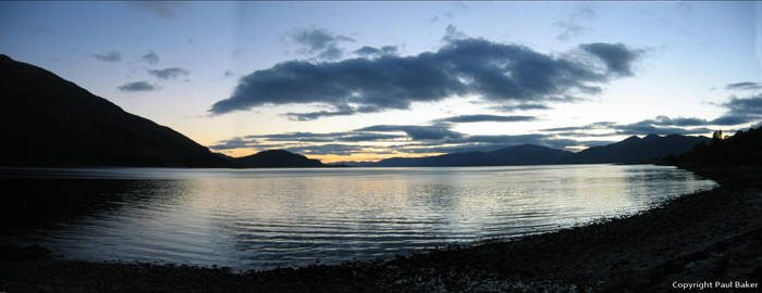 Loch Rannoch blue by ogrebear