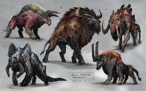 Bull Concept by jaroldsng